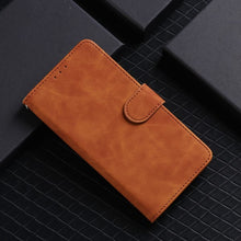 Load image into Gallery viewer, Pure Color Skin Feel Flip Leather Case For Samsung A50