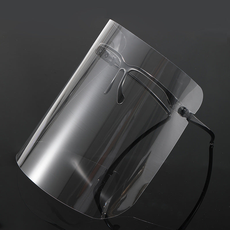 Upgraded Safety Fashionable Clear Face Shield(2Set+ Extra 3 Replaceable Shields)