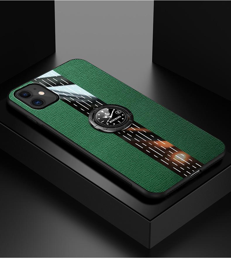 Creative Luxury Leather Watch Series iPhone case
