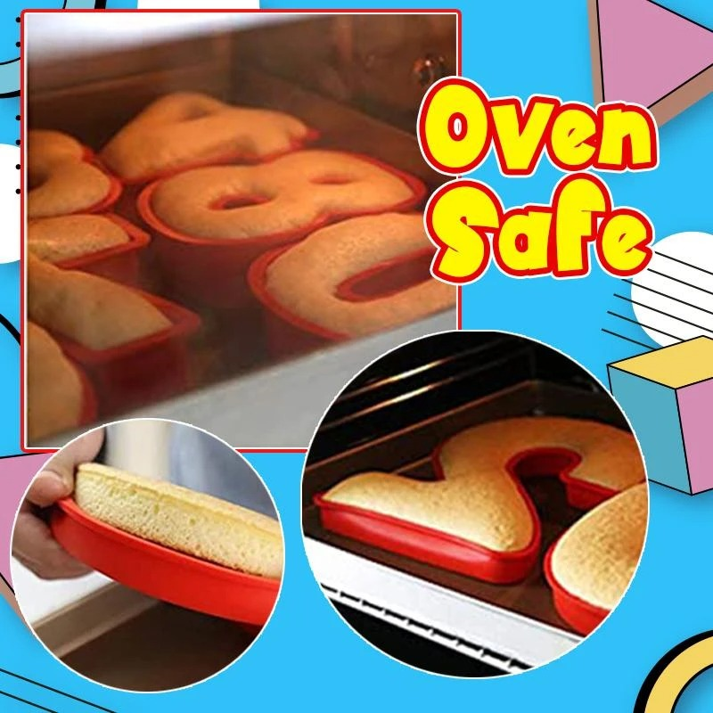 Perfect 0-9 Number Shape Cake Molder