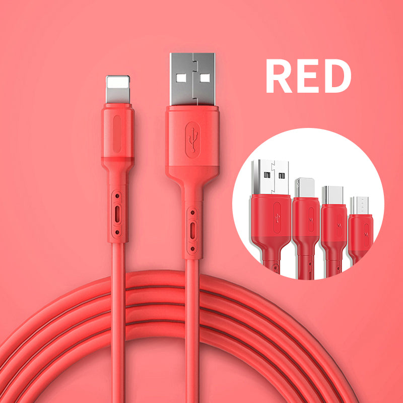 Liquid Silicone Data Wire Charging Cable