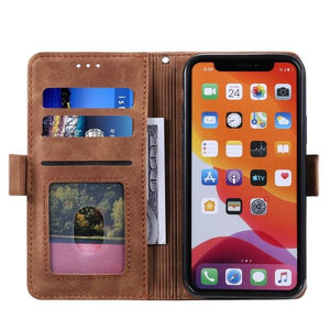 2021 ALL-New Shockproof Wallet Case For Samsung A51(4G/5G)