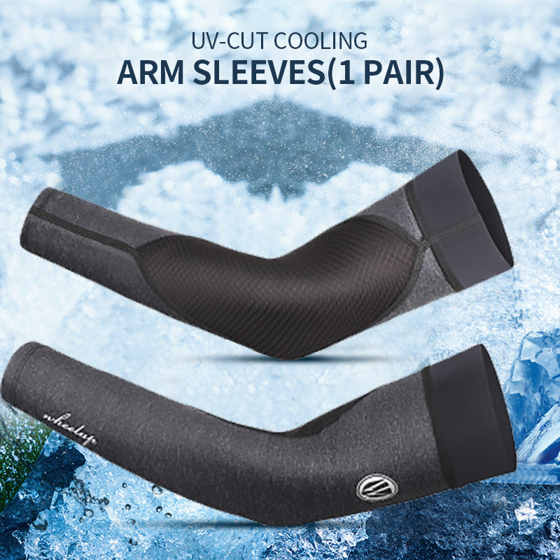 UV-Cut Cooling Arm Sleeves(1 Pair)