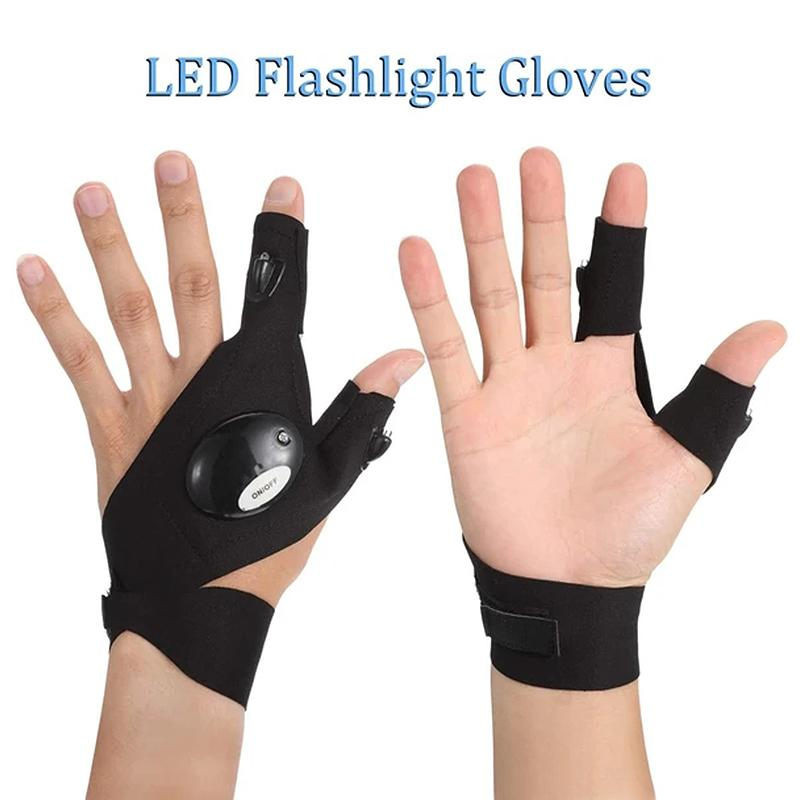 【Today 50% OFF】LED Gloves with Waterproof Lights