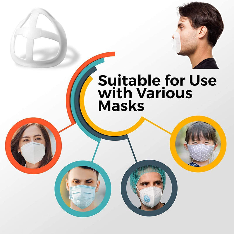Shield 3D Mask Bracket for Kids and Adults(5PCS)