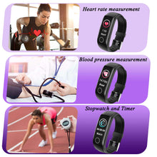 Load image into Gallery viewer, Top Fitness Tracker Body Temperature Smart Watch
