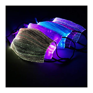 7 Color Rechargeable LED Rave Mask