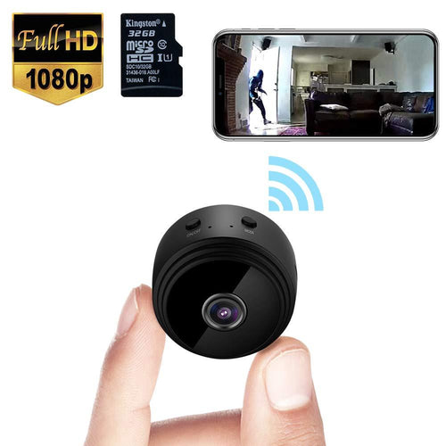 Mini Spy Camera WiFi Wireless Hidden Video Camera 1080P HD With A 32G SD Card