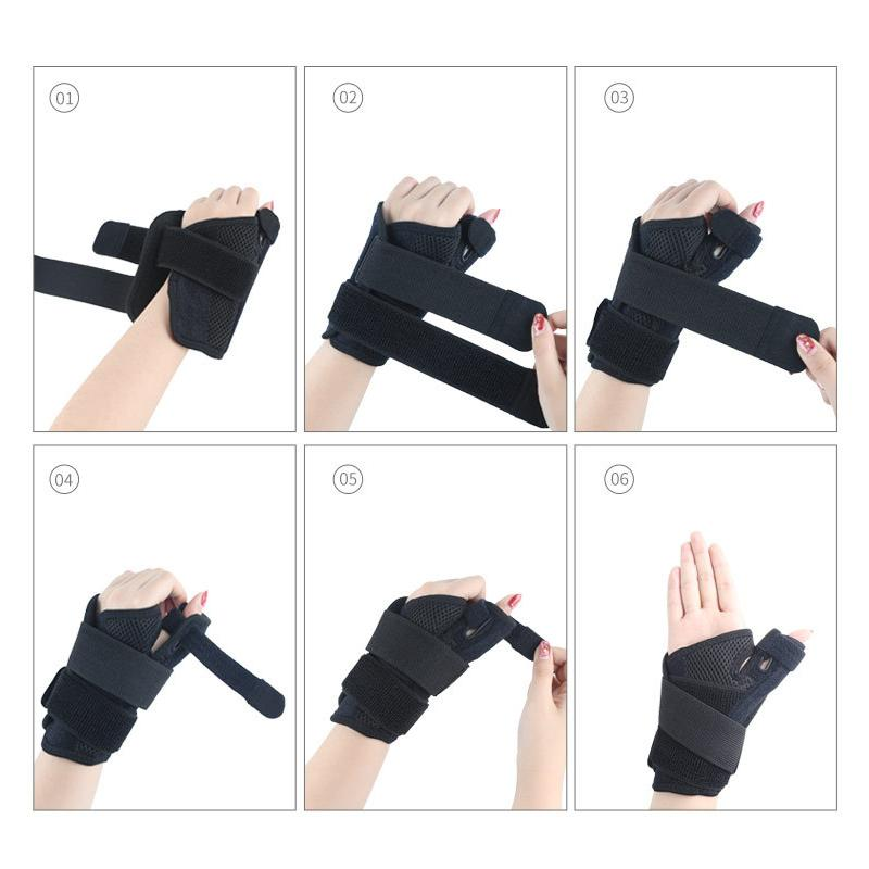 Reversible Thumb Stabilizer