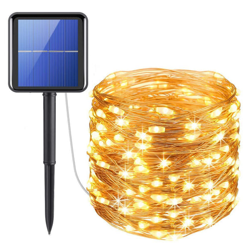 8 Modes Solar Decorative String Lights for Outdoor, Wedding, Party