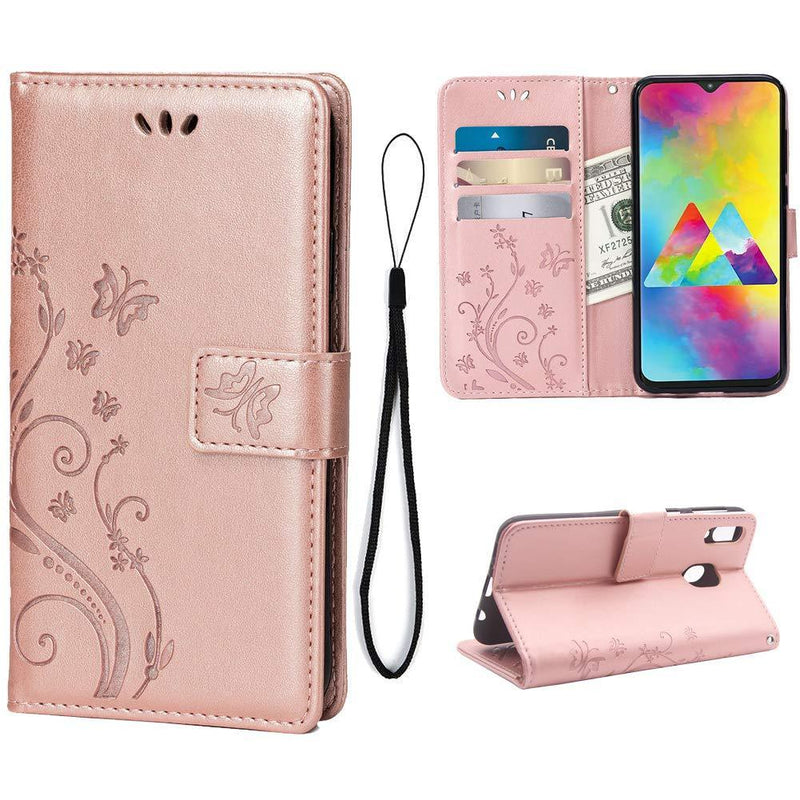 NEW Luxury Embossed Wallet Phone Case For Samsung A50 Series
