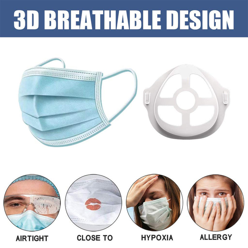Mask Brackets Increase Breathing Space