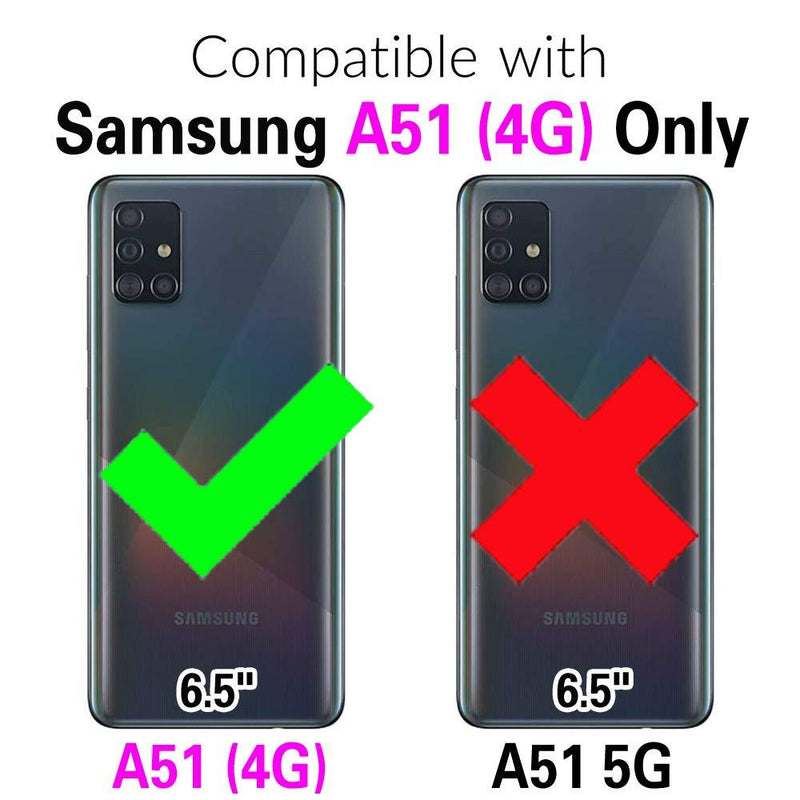 Ultra Thin 4 in 1 Premium Nanotech Impact Case For Samsung A51(4G)