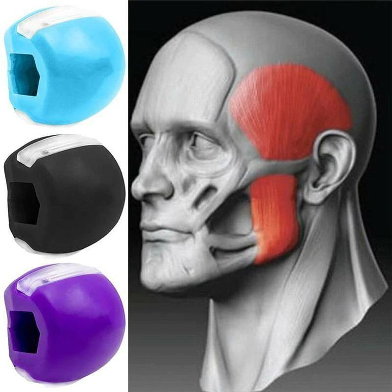 Facial Toner Jaw Exerciser And Neck Toning