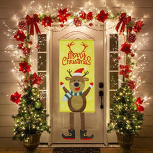 Load image into Gallery viewer, Merry Christmas Porch Sign Decorative Banner