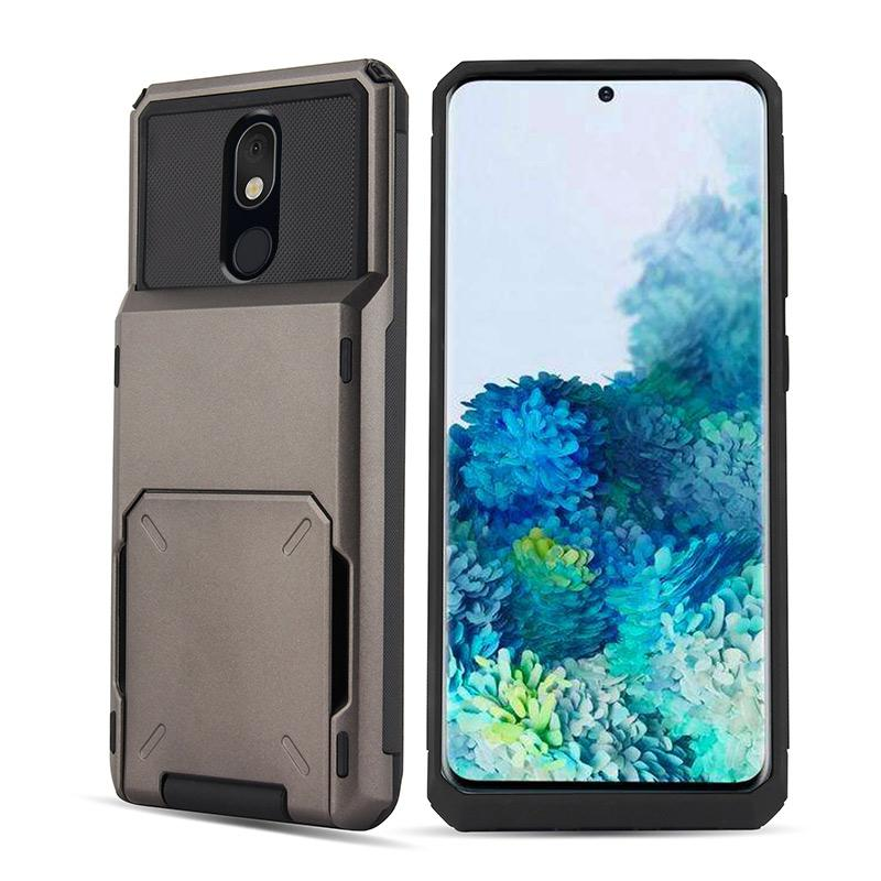 Travel Wallet Folder Card Slot Holder Case For LG Stylo4