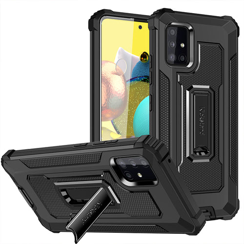 Strong Anti-Fall Metal Kickstand Phone Case For Samsung A51