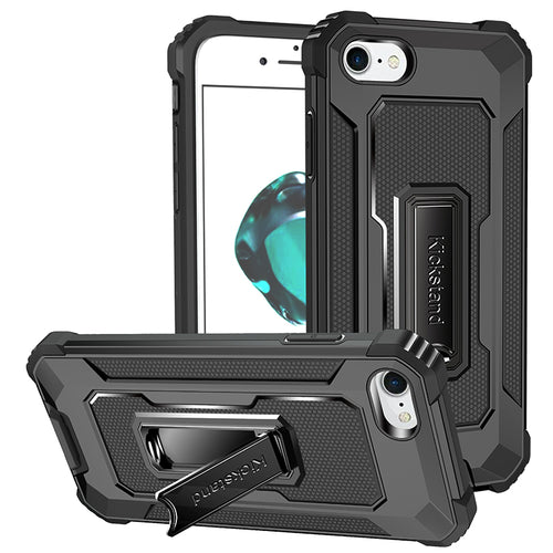 Strong Anti-Fall Metal Kickstand Case For iPhone 7/8/SE2020