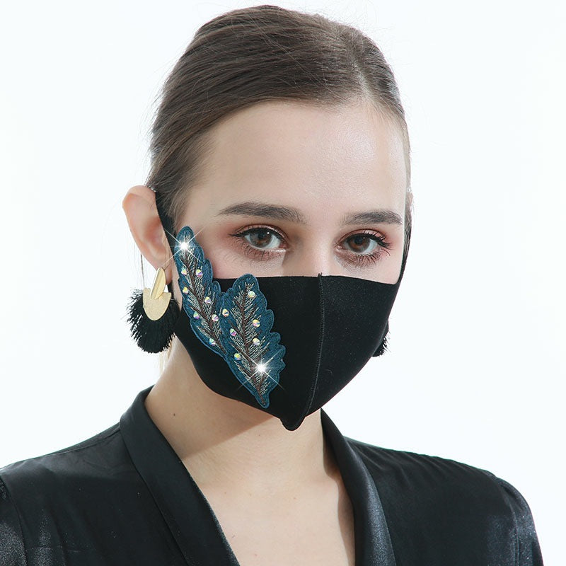 Reusable 3D Leaf Design Comfortable Face Mask
