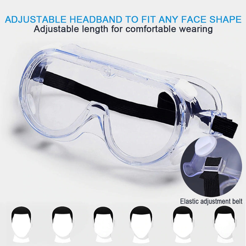 Fully Enclosed Protective Goggles