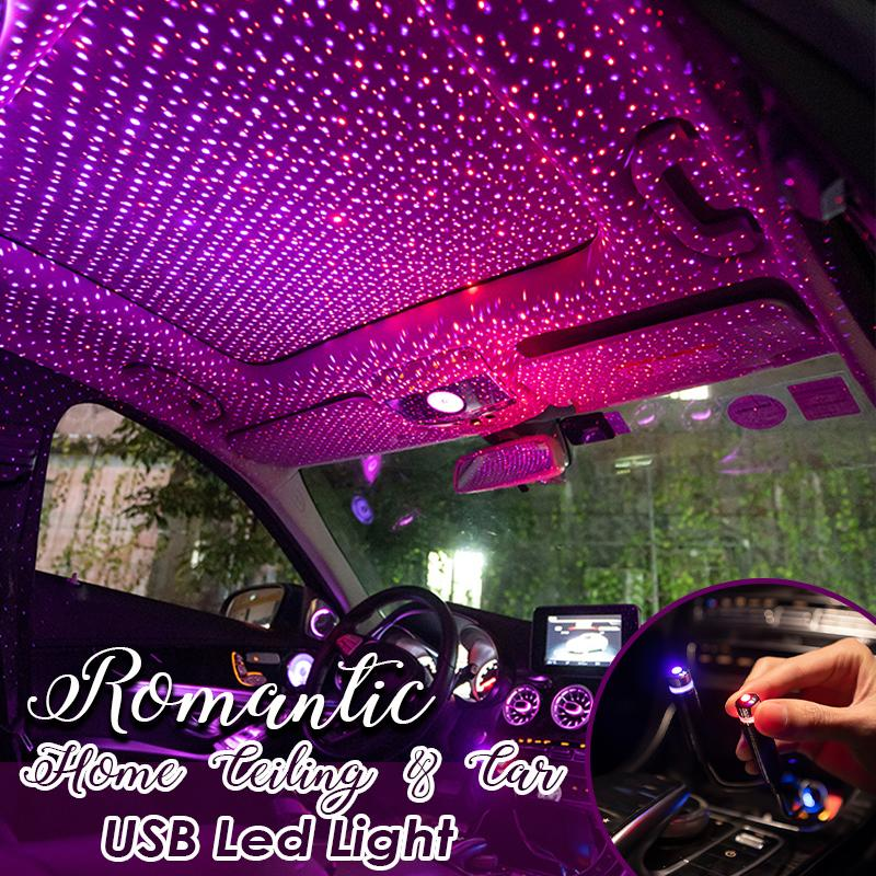 Romantic Home Ceiling and Car USB Led Lights