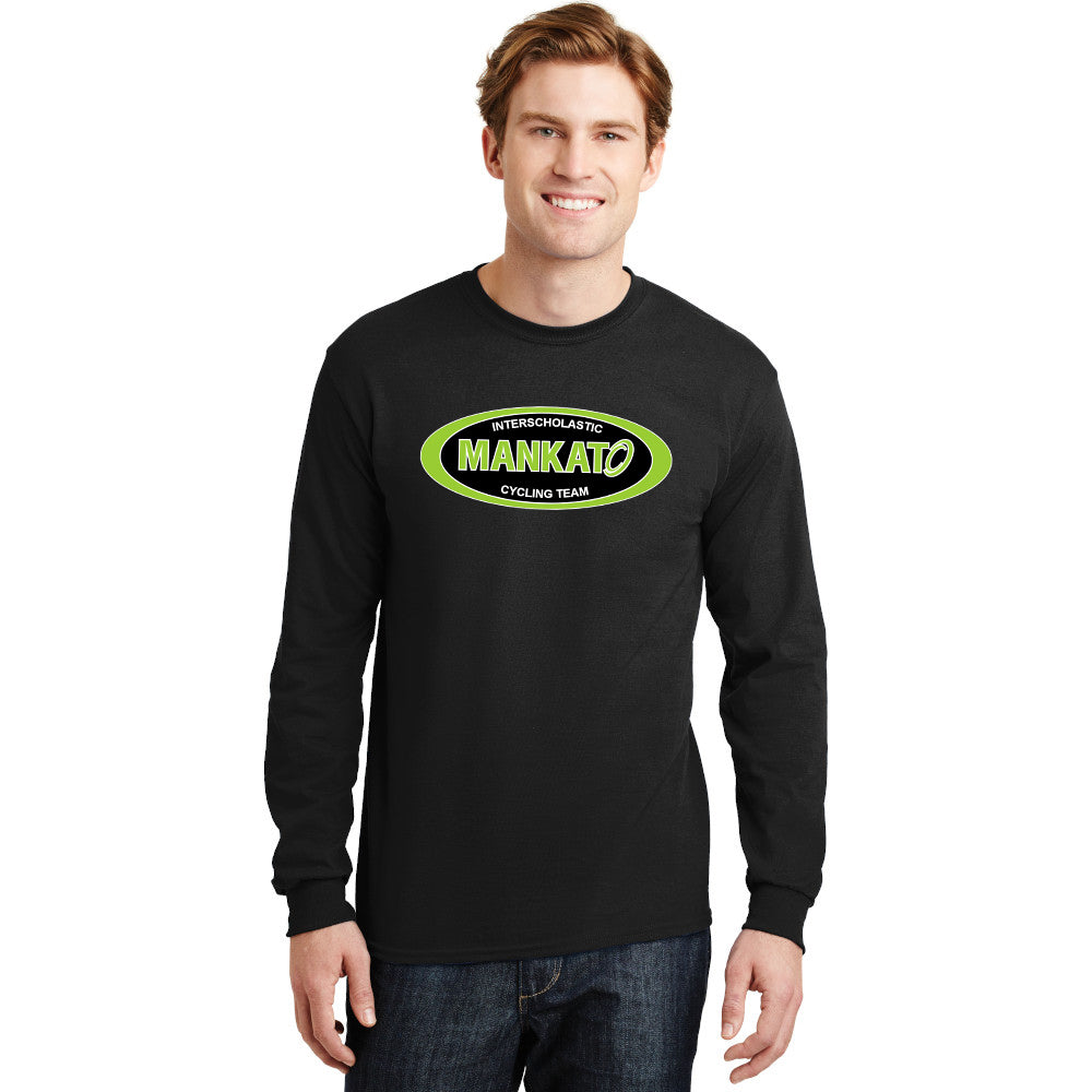 G8400 Long Sleeve Tee Shirt with Logo