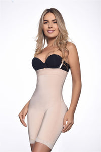 Isabelle Strapless Mid Thigh Body w/ Buttock Enhancer