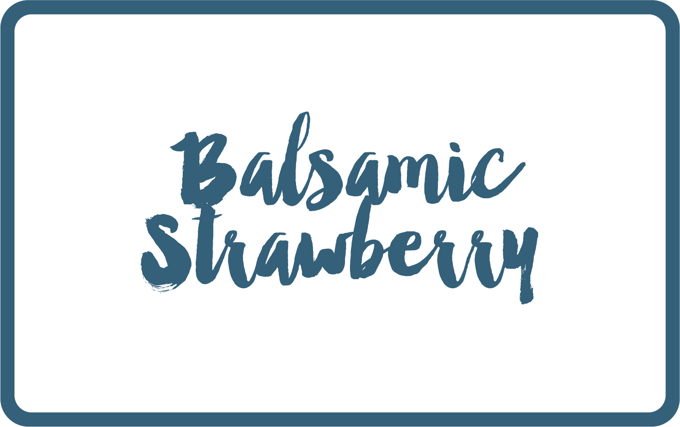 Balsamic Strawberry vegan sorbet - Butterknife Folk artisanal gelato - ice cream gelato delivery Singapore