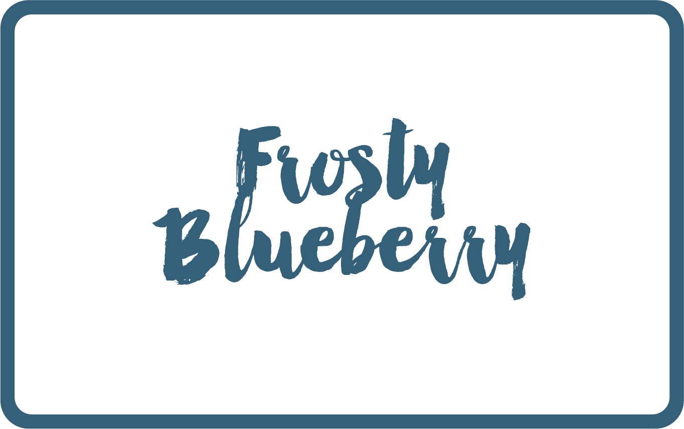 Frosty Blueberry