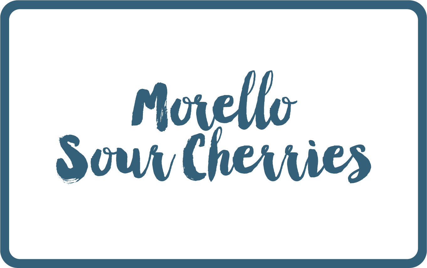 Morello Sour Cherries