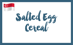 Salted Egg Cereal gelato - Butterknife Folk artisanal gelato - ice cream gelato delivery Singapore
