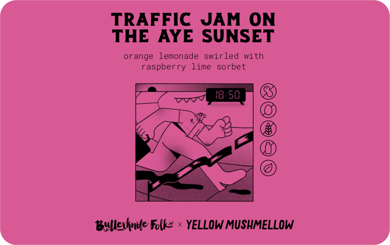 Traffic Jam on the AYE Sunset