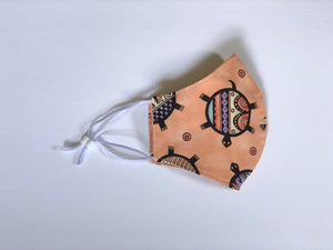 3. Mellow Turtles - Adjustable Ear Straps - Every Mask Counts