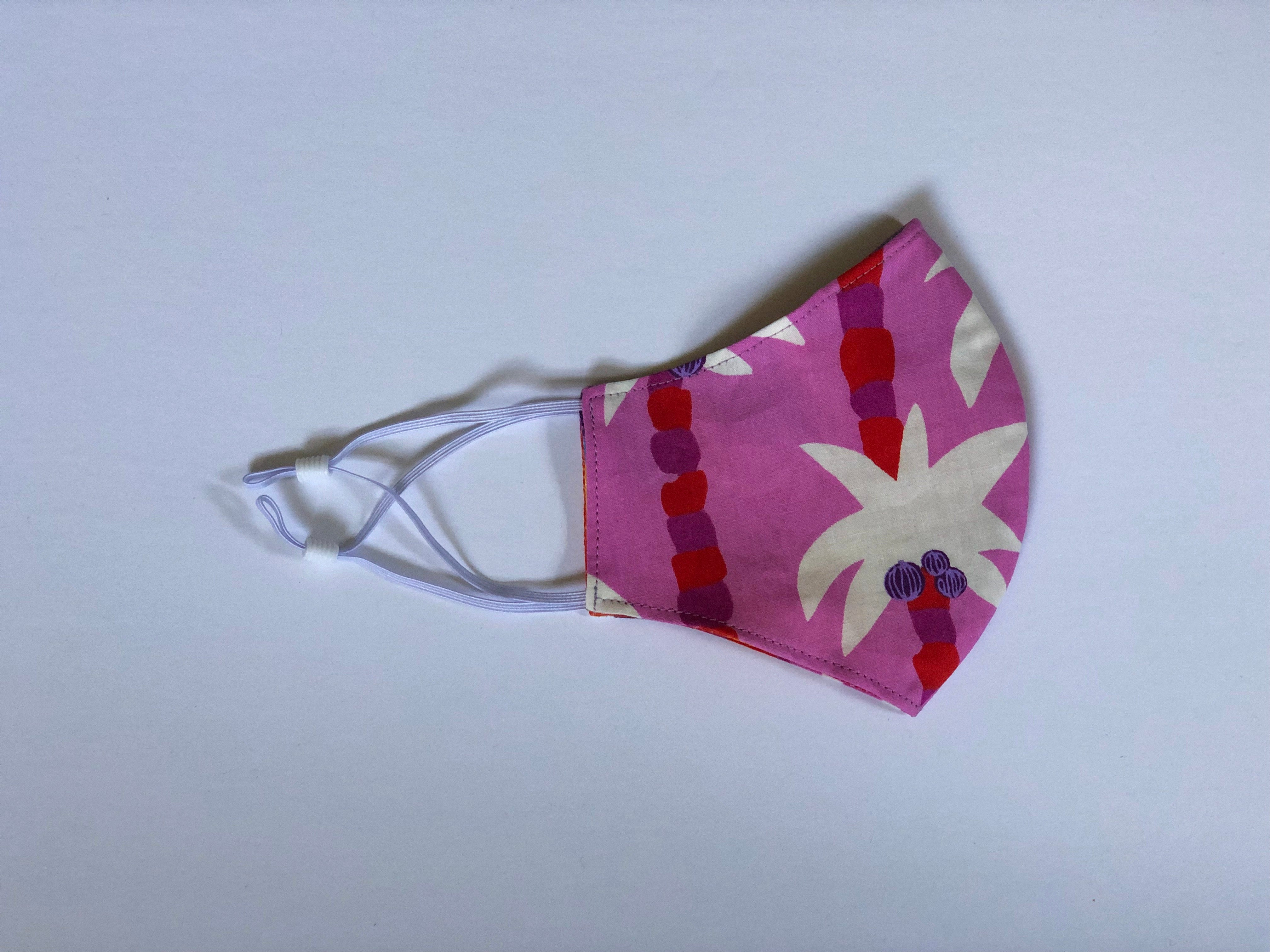 9. Pink Palms - Adjustable Ear Straps