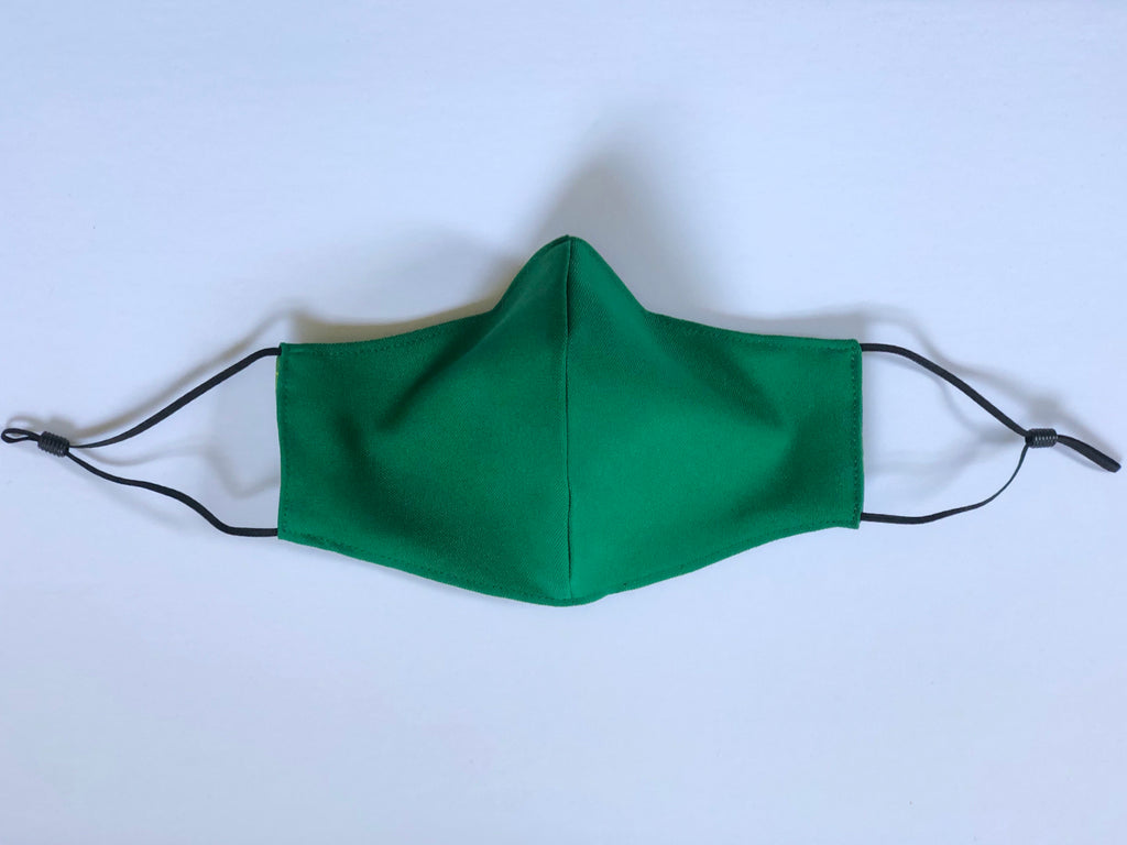 11. Green - Adjustable Ear Straps - Every Mask Counts