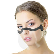 Load image into Gallery viewer, Clear Transparent Face Mask Unisex - Every Mask Counts