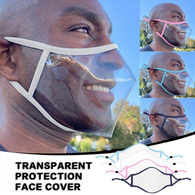 Clear Reusable Mask - Every Mask Counts