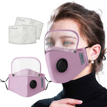 Load image into Gallery viewer, Mask + eye protection + filter - Every Mask Counts