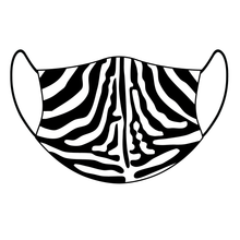Load image into Gallery viewer, '🦓 Zebra Skin Print' - Every Mask Counts
