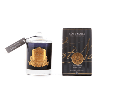 Cote Noire 185g Soy Blend Candle - Private Club - Gold - GML18525 freeshipping - Eliza Moore Boutique
