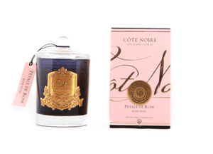 Cote Noire Soy Blend Candle 185g - Rose Petal Gold - Eliza Moore Boutique