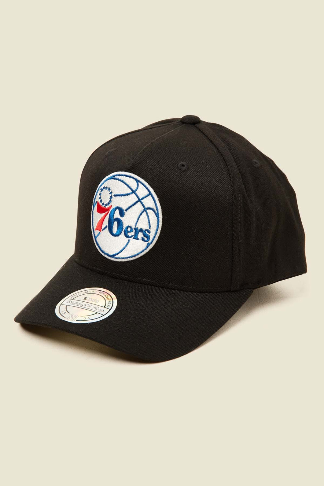 Mitchell & Ness Philadelphia 76ers 110 Pinch - Black/Team Colour