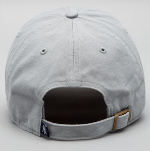 '47 Brand NY Yankees Clean Up Cap - Storm Grey