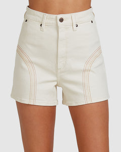 Wrangler Ladies Hi Bells Short - Divine Light