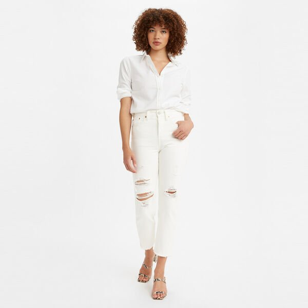 Levi's Ladies Wedgie Straight Jean - Cloud Bank