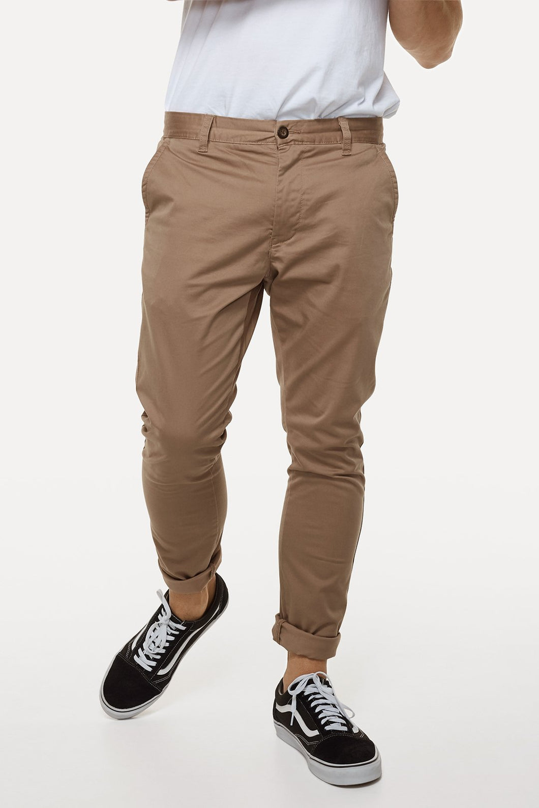 Industrie Mens The Cuba Chino Pant - CARAMEL