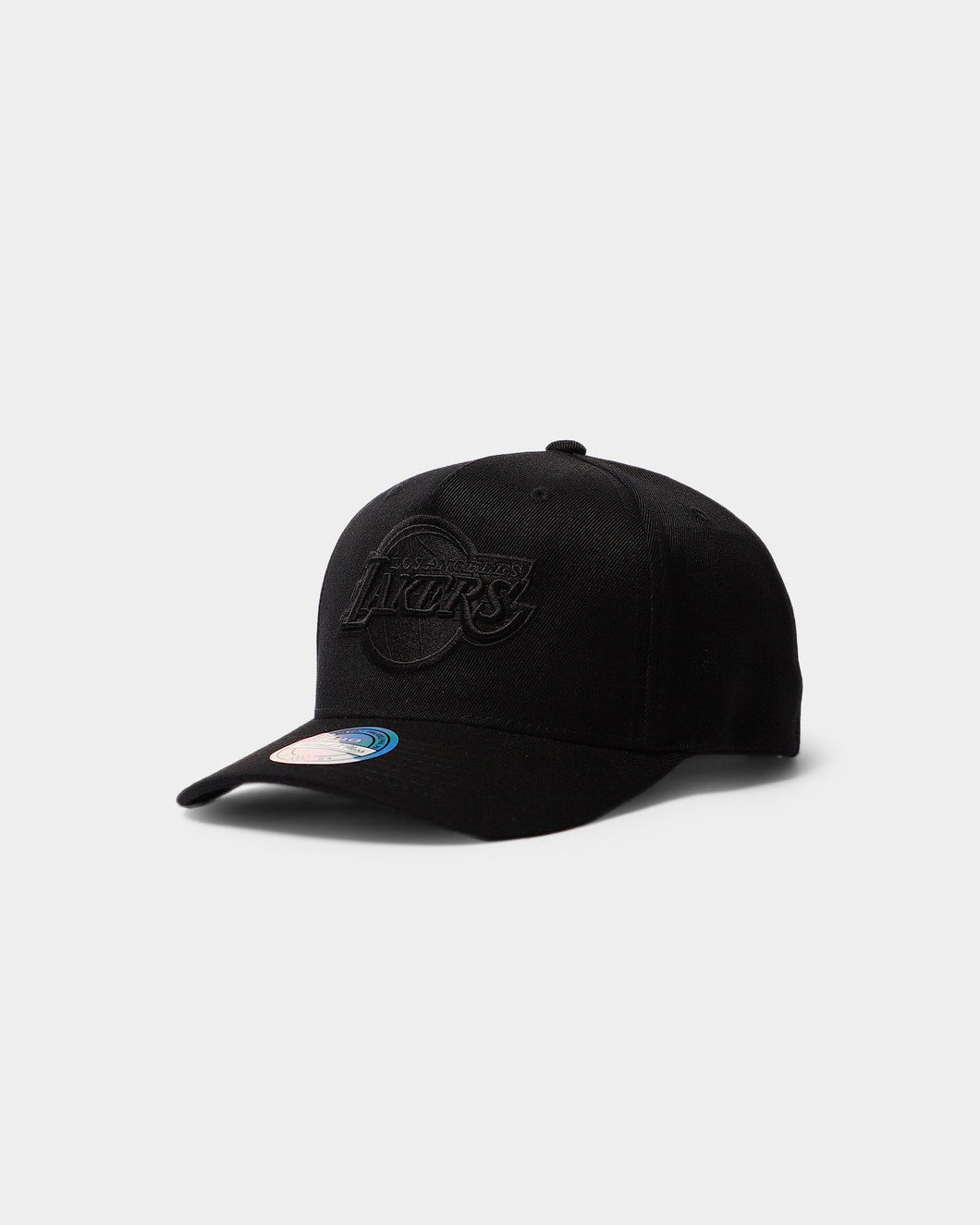 Mitchell & Ness Lakers 110 Pinch Hat - Black/Black