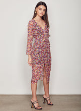 Load image into Gallery viewer, WISH Ladies Florence Midi Dress - Multi