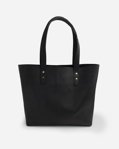 Stitch & Hide Emma Tote Bag - Black