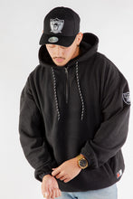Load image into Gallery viewer, Majestic Men's Polar Oakland Hoodie - Black